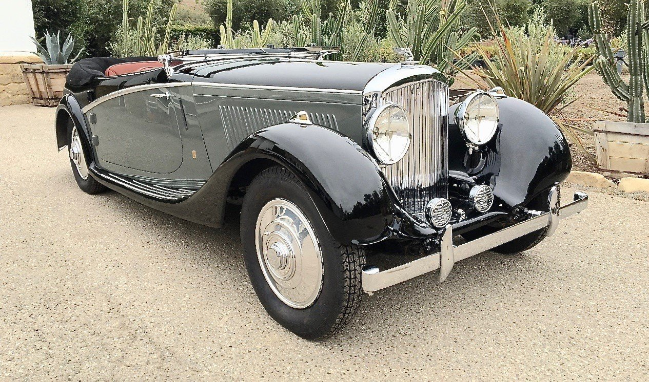 1936 bentley 4 1 4 litre drophead coupe