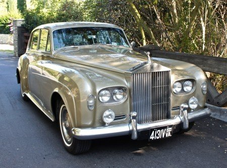 1963 rolls royce silver cloud iii saloon
