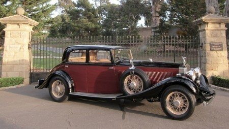 1934 rolls royce phantom ii continental touring sedan
