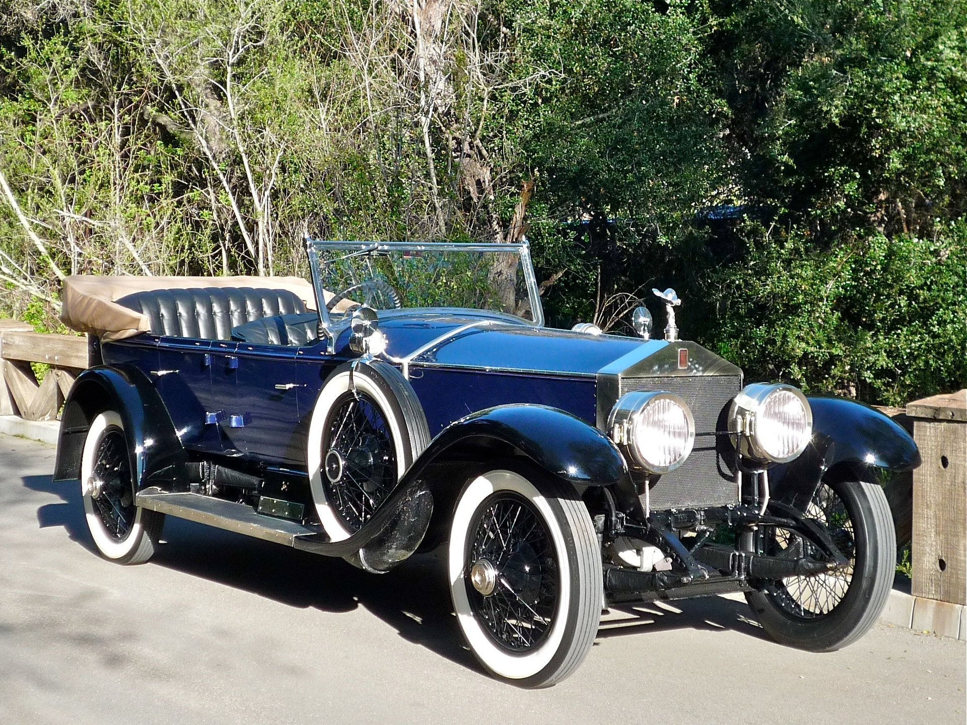 1924 rolls royce silver ghost pall mall tourer