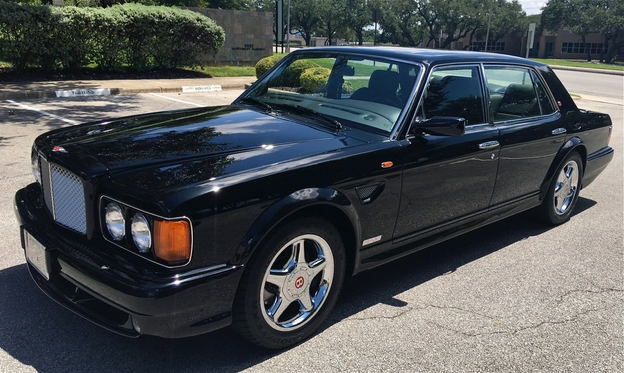 1999 bentley turbo rt mulliner