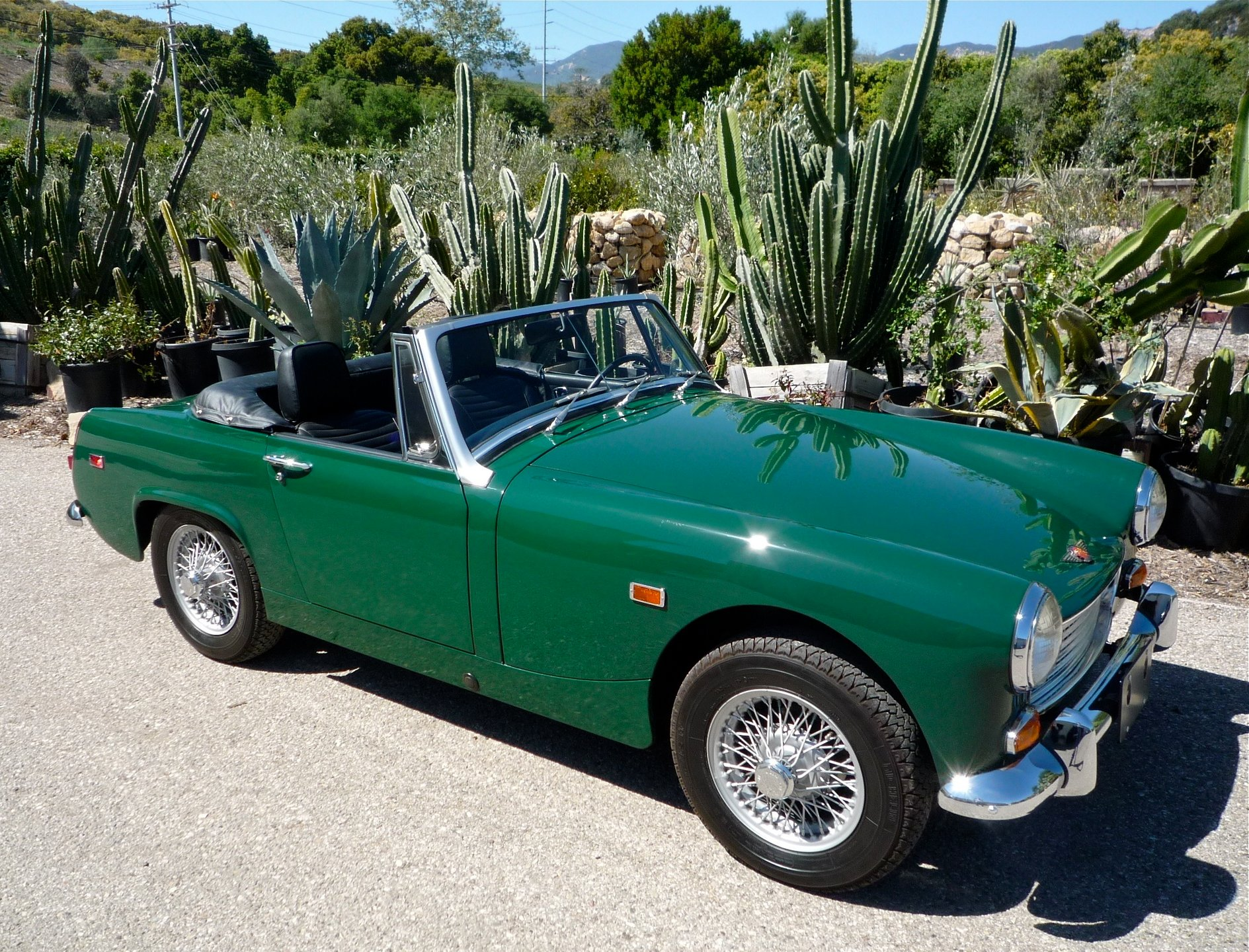1969 austin healey sprite mark iv
