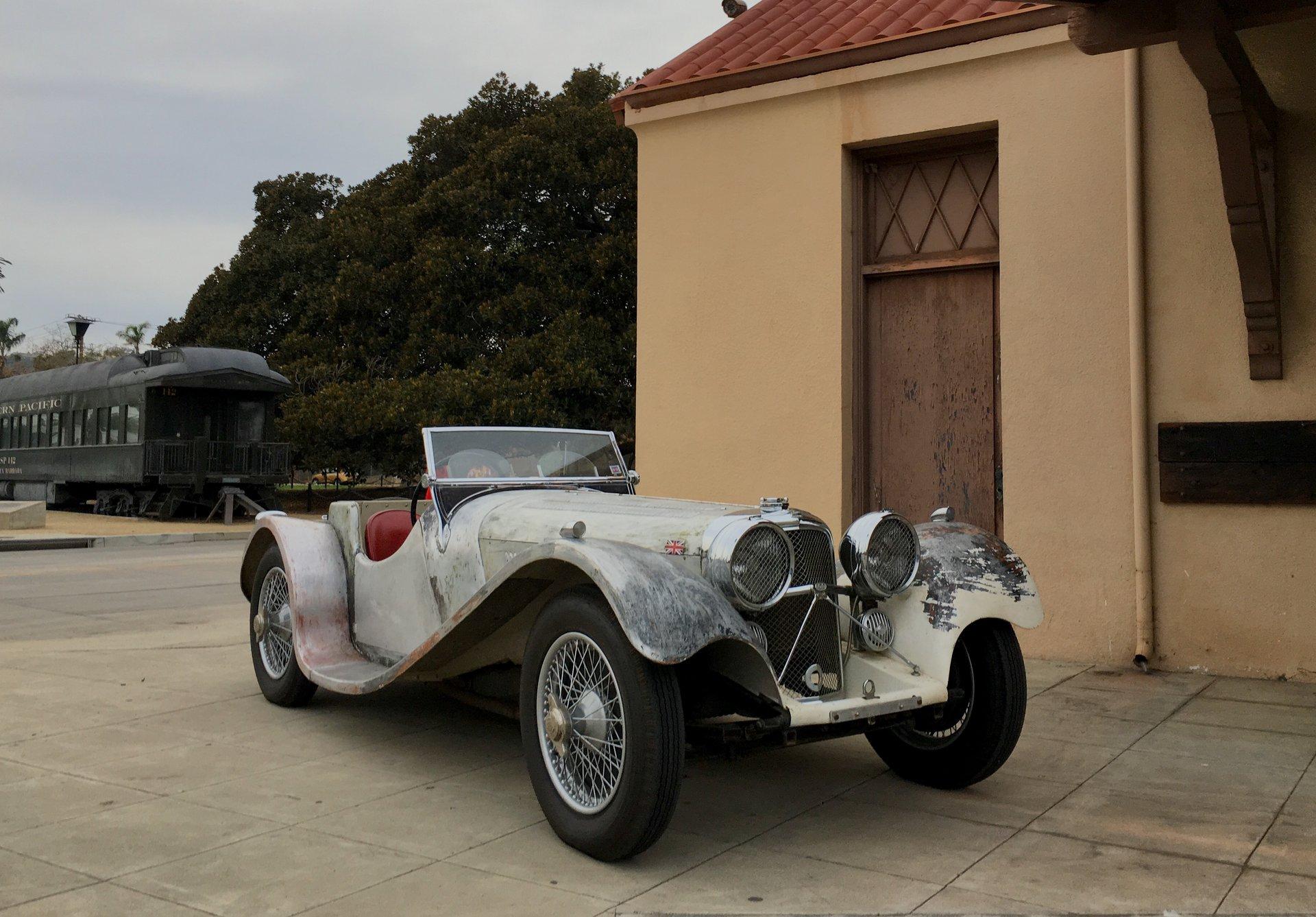 1938 jaguar ss100 3 5 litre roadster
