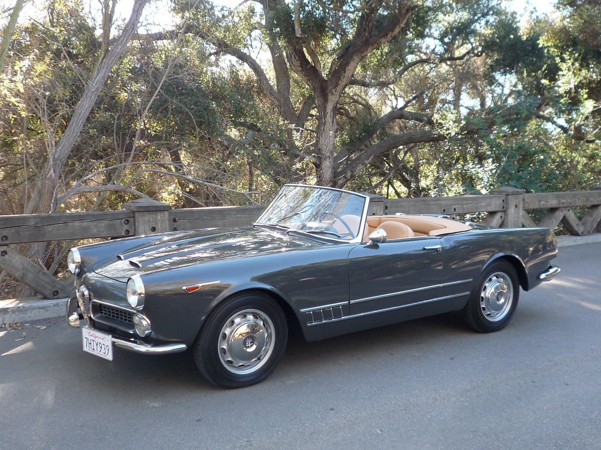 1962 alfa romeo 2000 spider