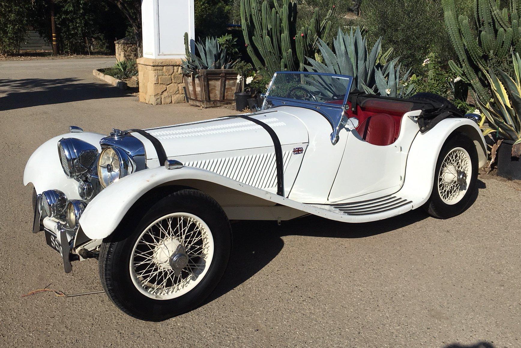 1937 jaguar ss100 2 5 litre roadster