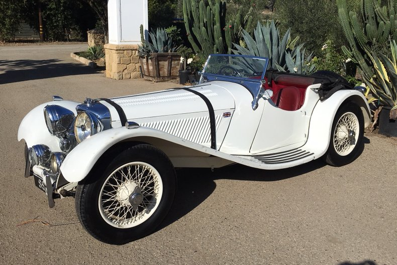 1937 Jaguar SS100 2.5 Litre Roadster