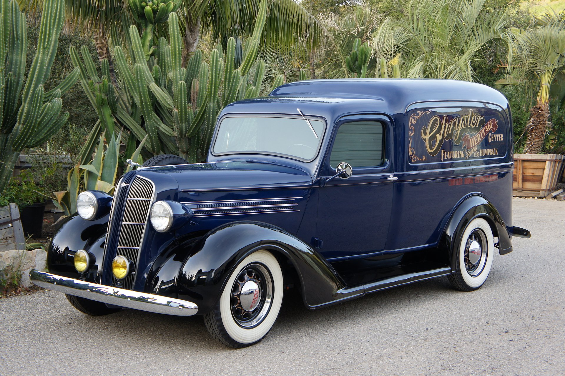 1936 dodge lc humpback panel delivery