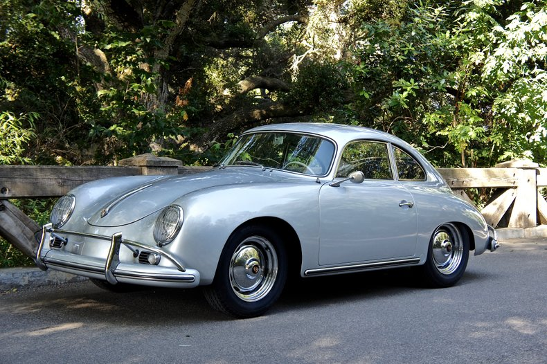 1959 Porsche 356A 1600 Super Sunroof Coupe