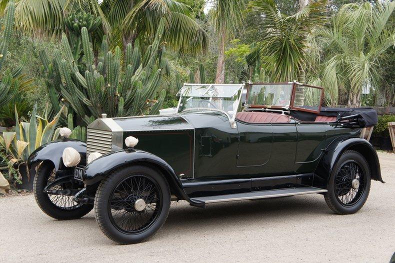 1923 Rolls-Royce 20hp Torpedo Tourer by Barker