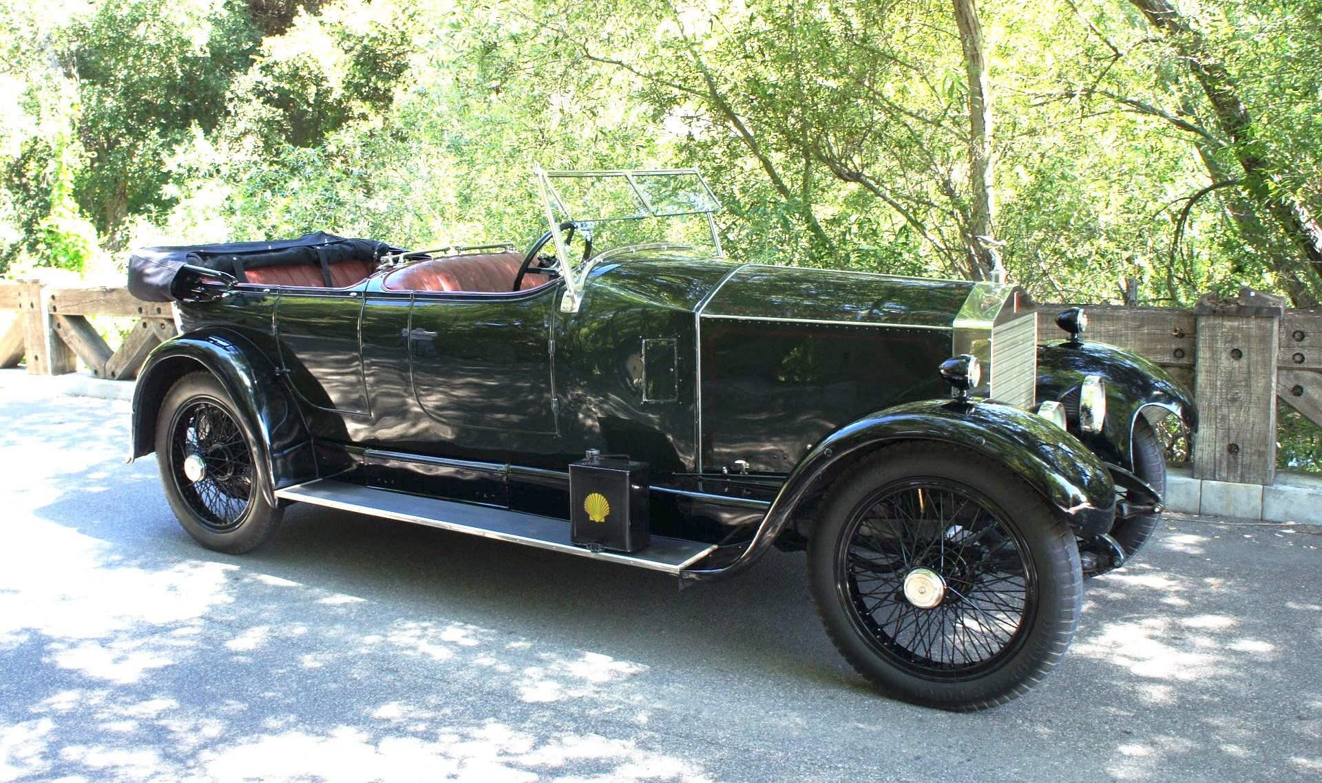 1923 rolls royce 20hp torpedo tourer by barker