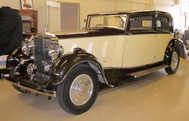1936 Rolls-Royce Phantom III Saloon by Barker for sale