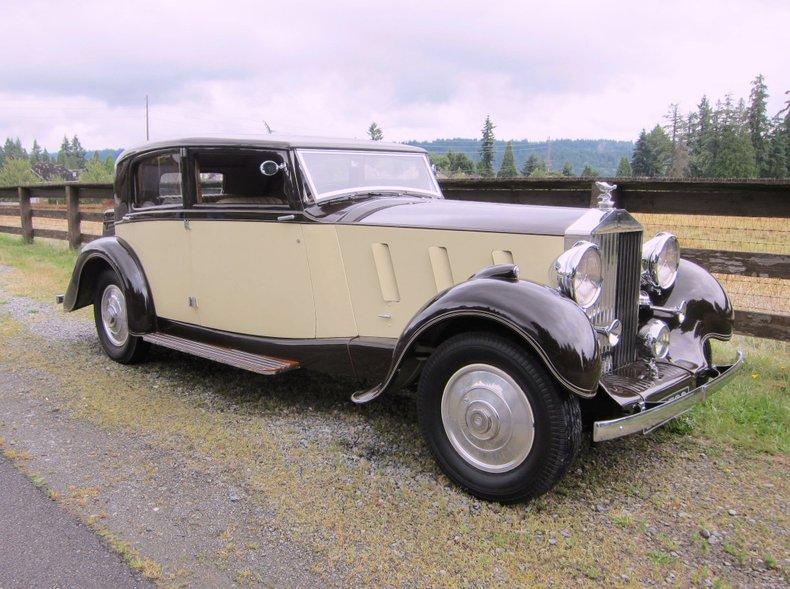 1936 Rolls-Royce Phantom III Saloon by Barker