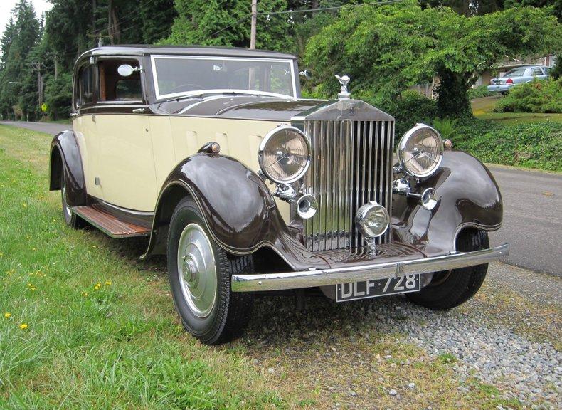 1936 Rolls-Royce Phantom III Saloon by Barker for sale