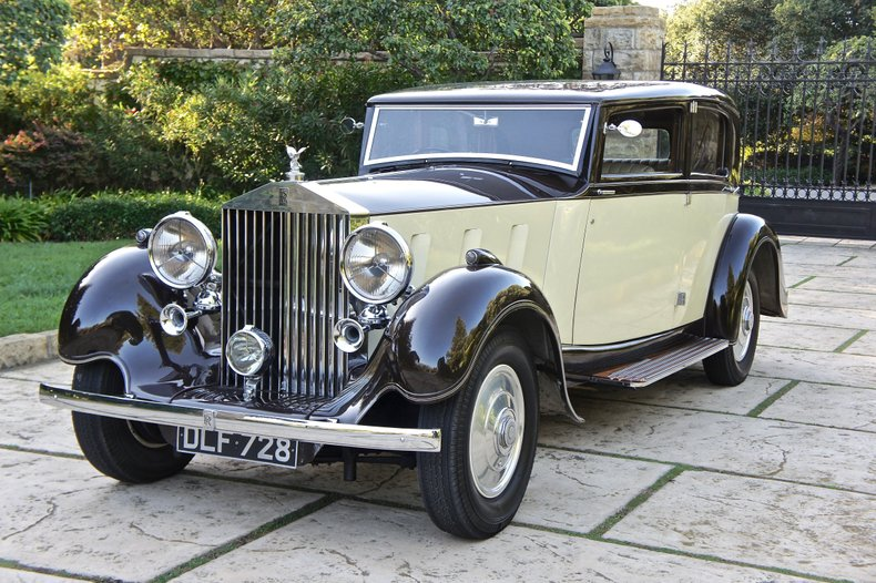 1936 Rolls-Royce Phantom III Saloon by Barker