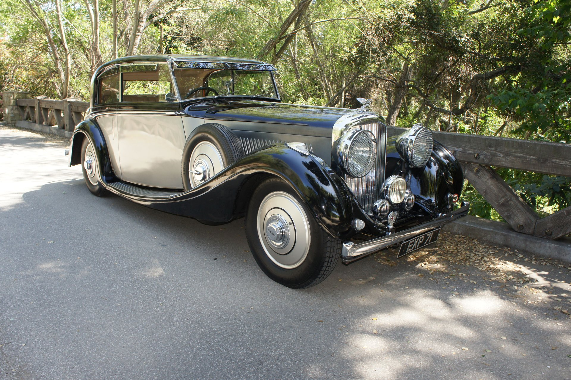 1938 bentley 4 1 4 litre h j mulliner sports coupe