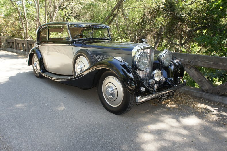 1938 Bentley 4 1/4 Litre H.J. Mulliner Sports Coupe