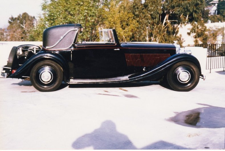 1937 Bentley 4 1/4 Litre