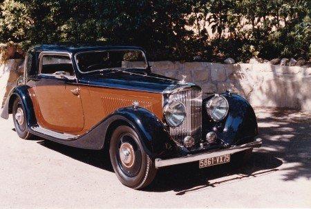 1936 bentley 4 1 4 litre