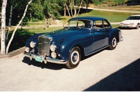 1952 bentley r type continental fastback