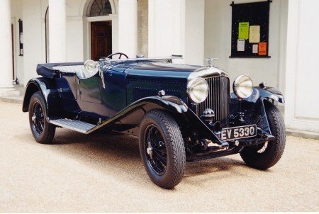 1931 bentley 4 litre 4 door open sports tourer
