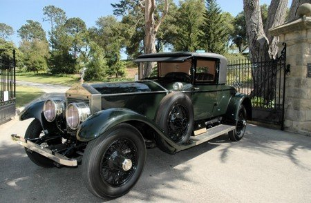 1926 rolls royce silver ghost doctor s coupe