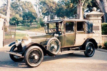 1920 rolls royce silver ghost landaulette