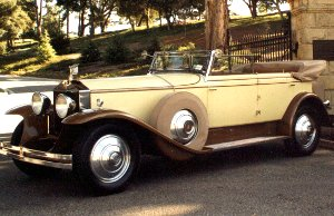 1930 rolls royce phantom i 7 passenger convertible sedan