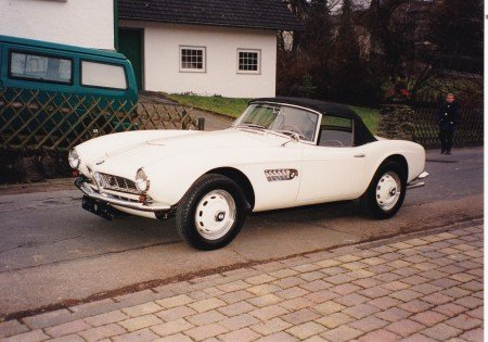1958 bmw 507 series 2 roadster