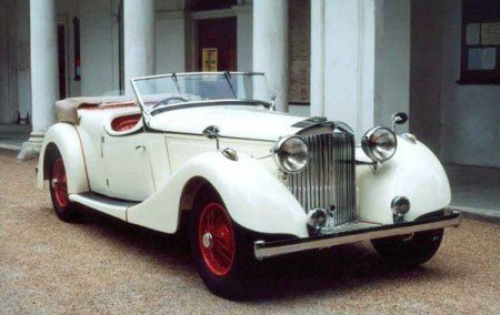 1938 jensen s type 3 door open tourer
