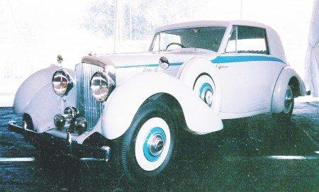1938 bentley 4 1 4 litre od paris show car