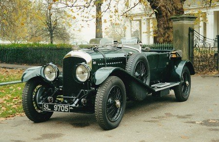 1927 bentley 4 1 2 litre tourer