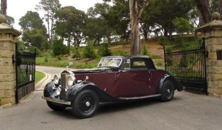 1936 rolls royce phantom iii 2 seat sport coupe