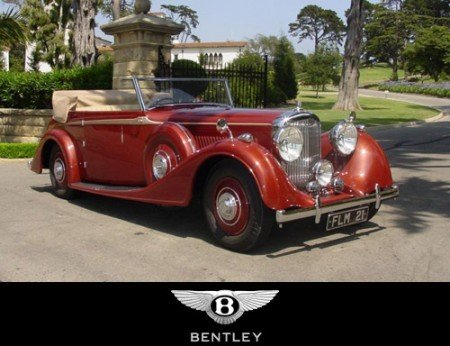 1938 bentley 4 1 4 litre drophead coupe