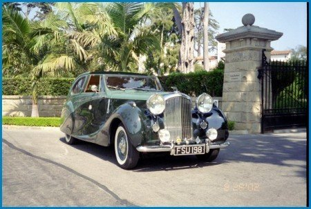 1949 bentley mark vi sedanca coupe