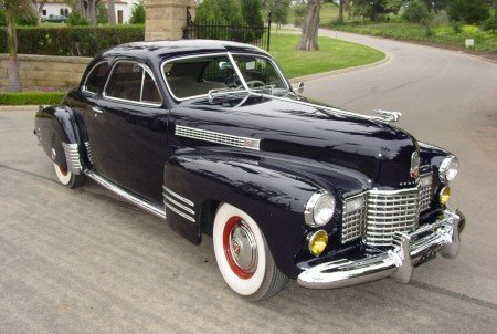 1941 cadillac series 62 club coupe