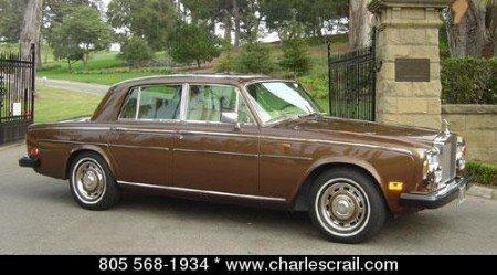 1980 rolls royce silver shadow ii