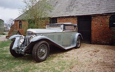 1931 bentley 8 litre 2 door sport tourer