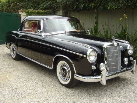 1960 mercedes benz 220se coupe