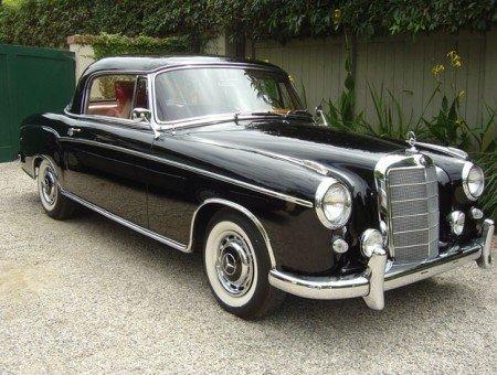 1960 mercedes benz 220se coupe