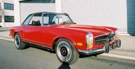 1971 mercedes benz 280sl roadster