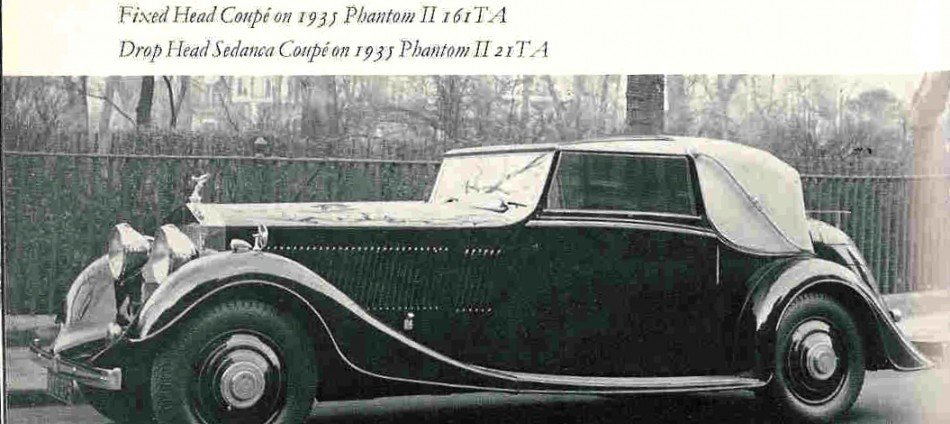 1934 rolls royce phantom ii continental 3 position drophead coupe