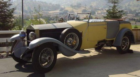 1930 rolls royce phantom i allweather tourer