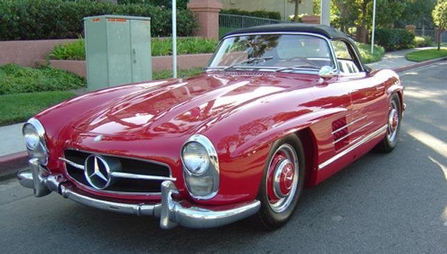1959 mercedes benz 300sl roadster