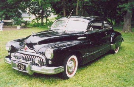 1948 buick custom sedanette