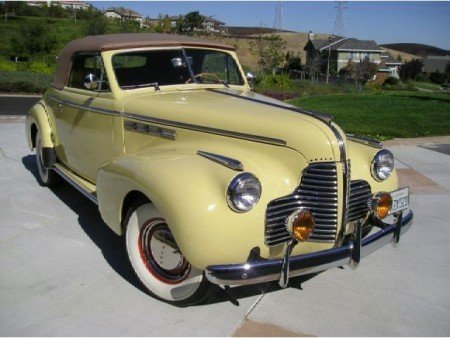 1940 buick series 40 convertible coupe