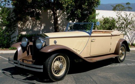 1931 rolls royce phantom ii convertible