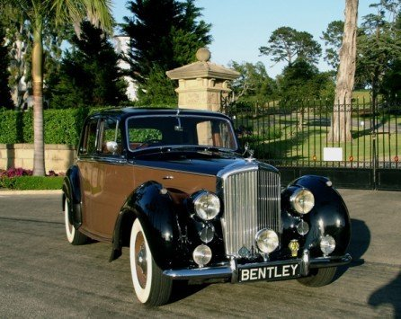 1949 bentley mark vi sports saloon