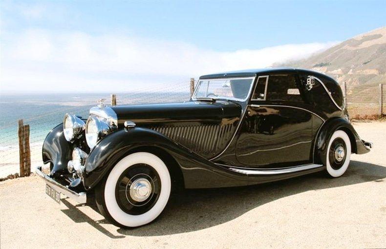 1940 bentley 4 1 4 litre od fixed head sedanca coupe