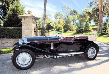 1927 bentley 4 1 2 litre tourer