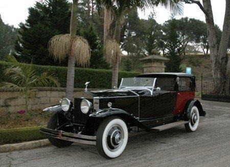 1930 rolls royce phantom i riviera towncar